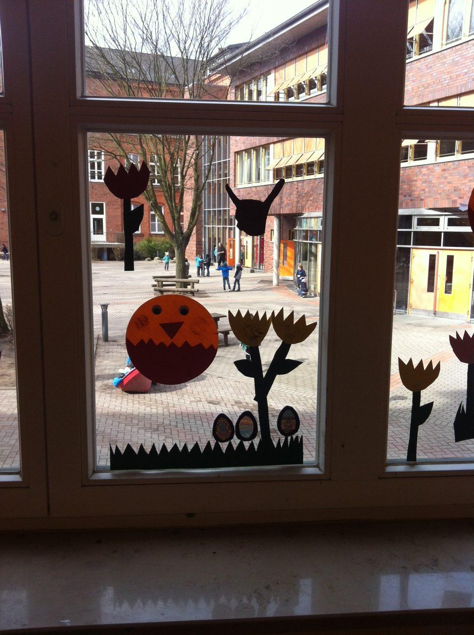 Vorschule Fensterdeko
